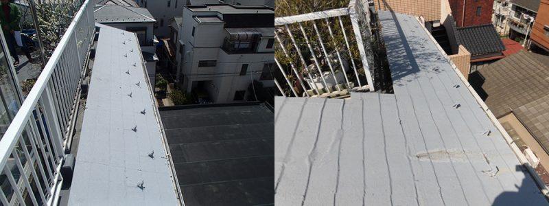 施工前屋根重ね葺き工事 【4】東京都文京区S様