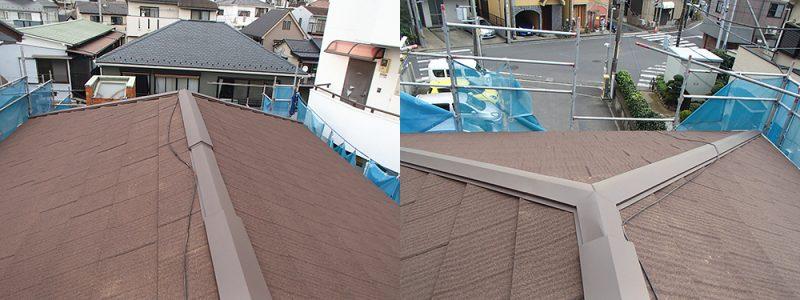 施工後瓦屋根葺き替え工事・外壁塗装工事 【6】横浜市鶴見区H様