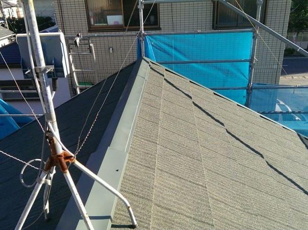 施工後屋根重ね葺き工事【7】横浜市港南区