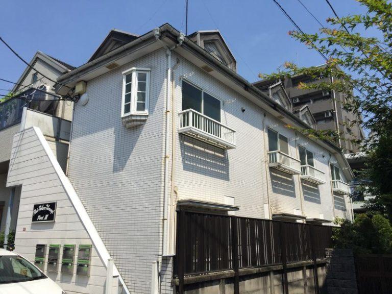 施工前屋根重ね葺き工事・外壁サイディング貼り工事 【8】東京都杉並区
