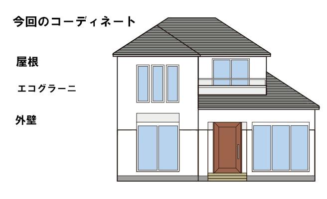 イラスト屋根重ね葺き工事【232】
