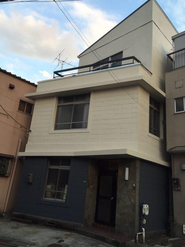 施工後外壁塗装工事【9】東京都文京区T様