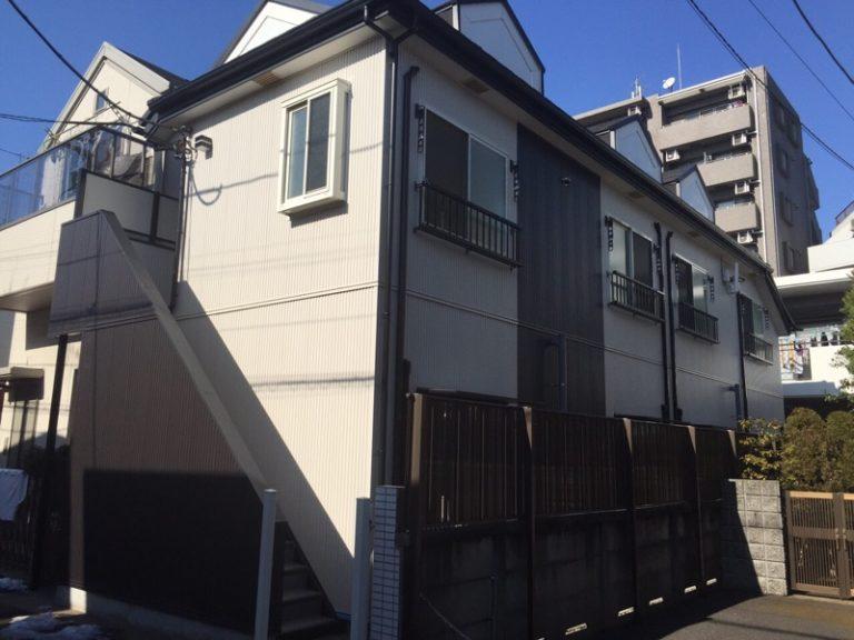 施工後屋根重ね葺き工事・外壁サイディング貼り工事 【8】東京都杉並区