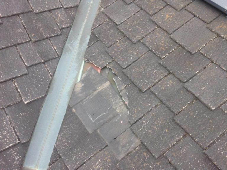 施工前屋根重ね葺き工事・外壁塗装工事【14】足柄下郡箱根町N様