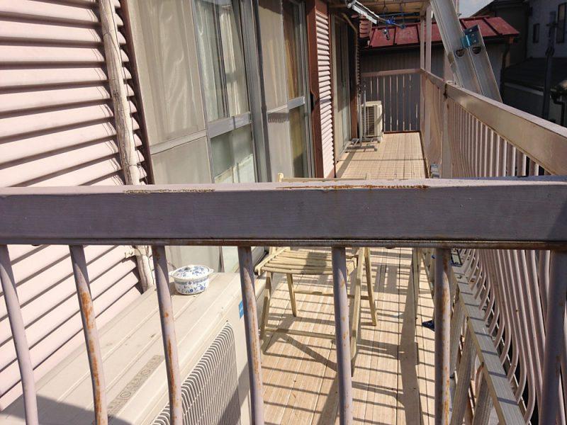 リフォーム施工中屋根重ね葺き工事・外壁塗装工事【15】横浜市港北区H様