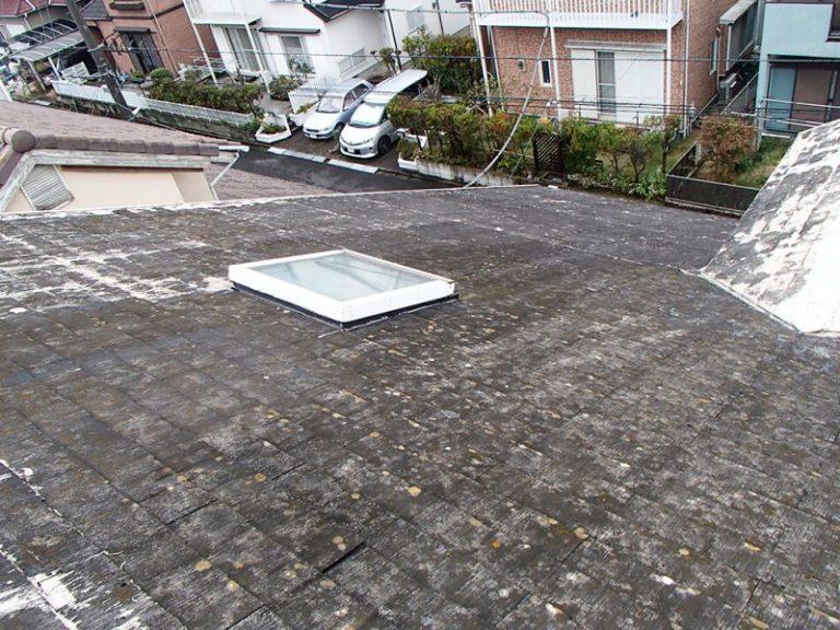 施工前屋根重ね葺き工事【17】千葉県印旛郡N様