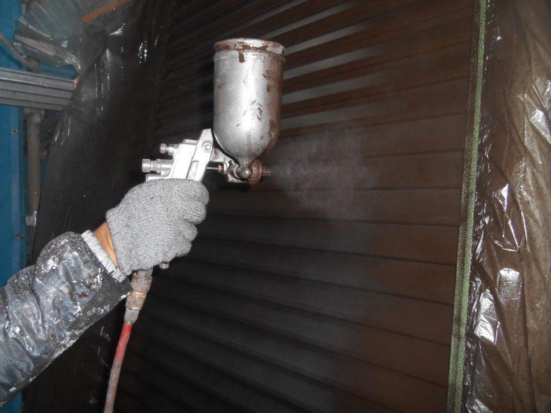 リフォーム施工中屋根重ね葺き工事・外壁塗装工事【19】千葉県柏市W様