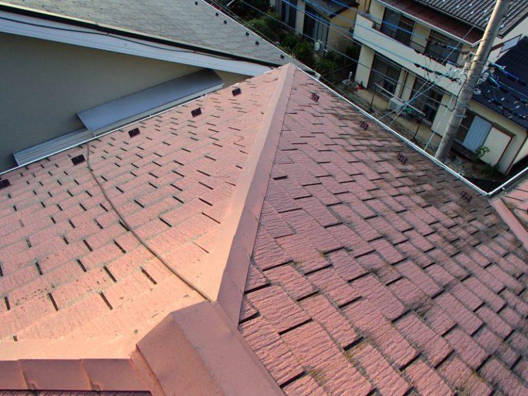 施工前屋根重ね葺き工事・外壁塗装工事【19】千葉県柏市W様