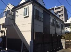 屋根重ね葺き工事・外壁サイディング貼り工事 【8】東京都杉並区