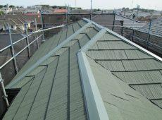 屋根重ね葺き工事・外壁塗装工事【30】横浜市青葉区