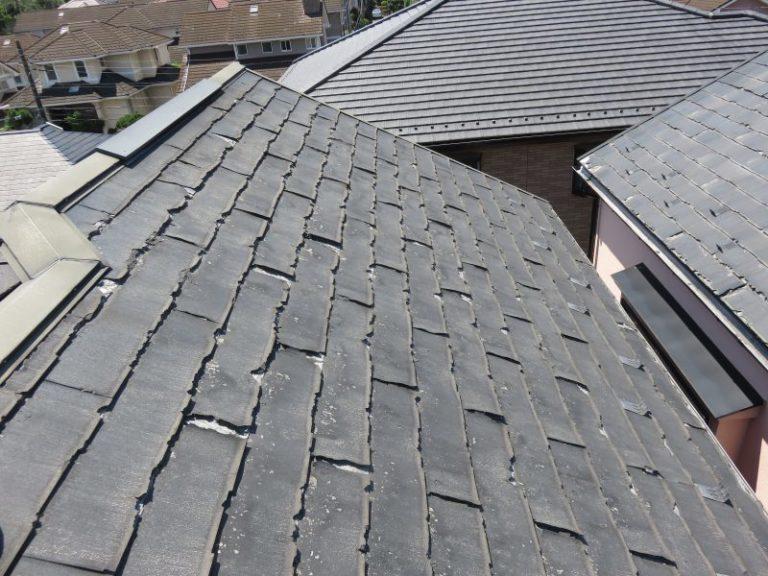 施工前屋根重ね葺き工事・外壁塗装工事【30】横浜市青葉区