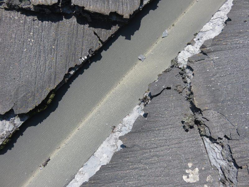 リフォーム施工中屋根重ね葺き工事・外壁塗装工事【30】横浜市青葉区