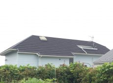 屋根重ね葺き工事・外壁塗装工事【27】横浜市中区Y様