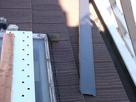 リフォーム施工中屋根重ね葺き工事・天窓コーキング工事【31】横浜市中区H様