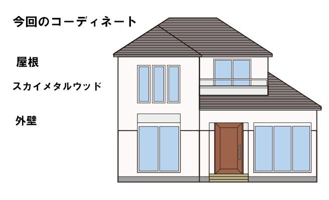 イラスト屋根重ね葺き工事【180】横浜市磯子区T様