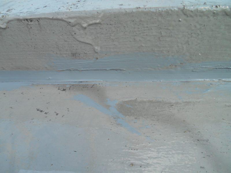 リフォーム施工中屋根防水工事・屋根塗装工事【32】東京都目黒区 M様