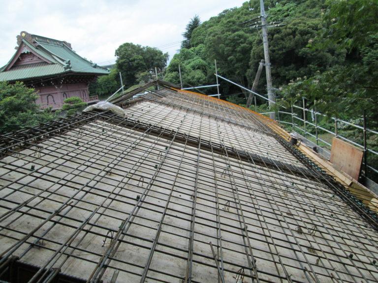 施工前お寺の宝物殿 – 新築屋根工事【39】大巌寺