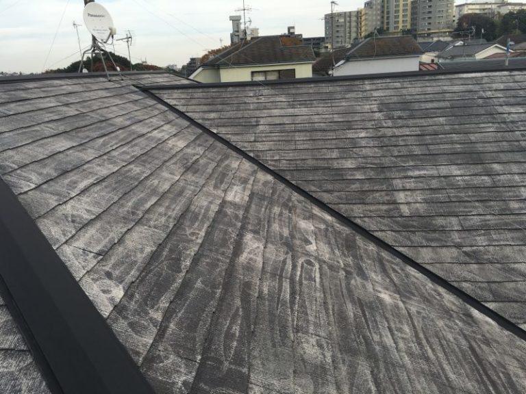施工前屋根洗浄・屋根塗装工事【38】横浜市青葉区Y様