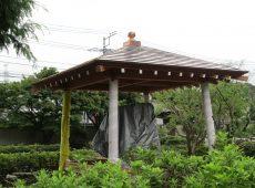 お寺 – 新築銅板葺き屋根工事【45】千葉県千葉市 大巌寺