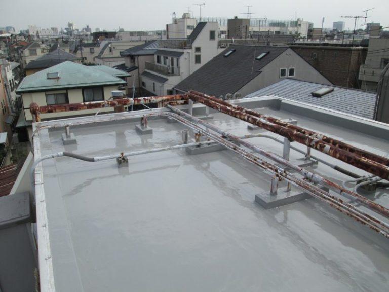 施工後屋根防水工事・屋根塗装工事【32】東京都目黒区 M様