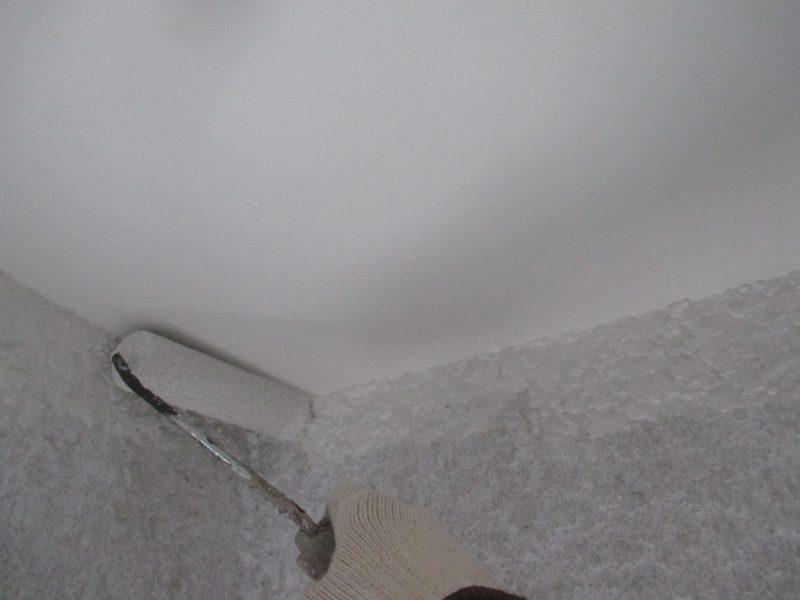 リフォーム施工中屋根重ね葺き工事・外壁塗装工事【42】横浜市神奈川区T様