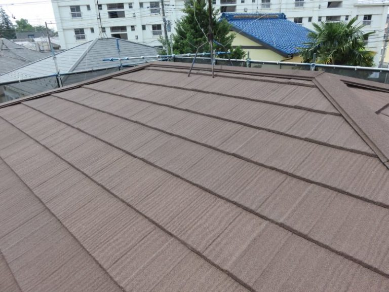 施工後屋根重ね葺き工事【36】相模原市南区A様