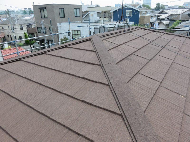 リフォーム施工中屋根重ね葺き工事【36】相模原市南区A様
