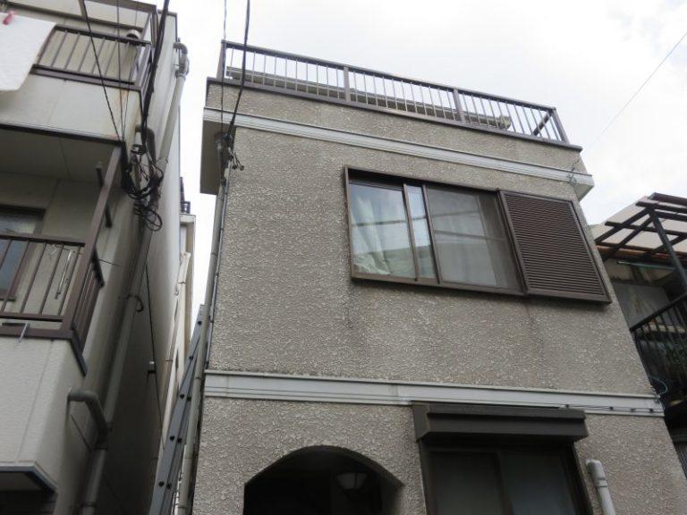 施工前屋根重ね葺き工事・外壁塗装工事【42】横浜市神奈川区T様