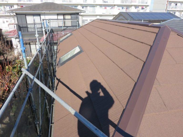 施工後屋根重ね葺き工事・外壁塗装工事【43】川崎市宮前区Y様