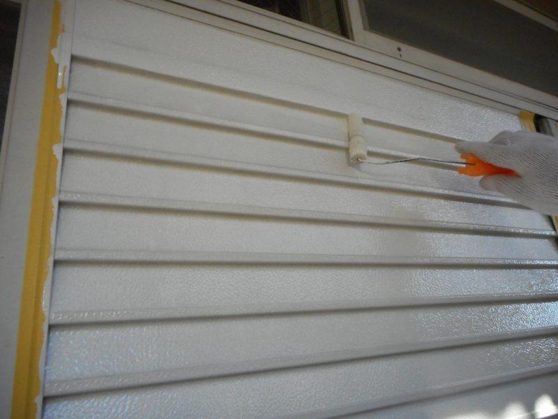 リフォーム施工中屋根重ね葺き工事・外壁塗装工事【52】横浜市磯子区I様
