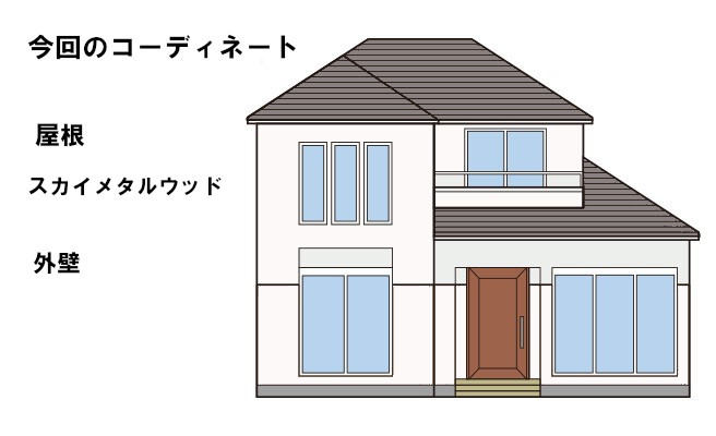 イラスト屋根葺き替え工事【56】横浜市港北区T様