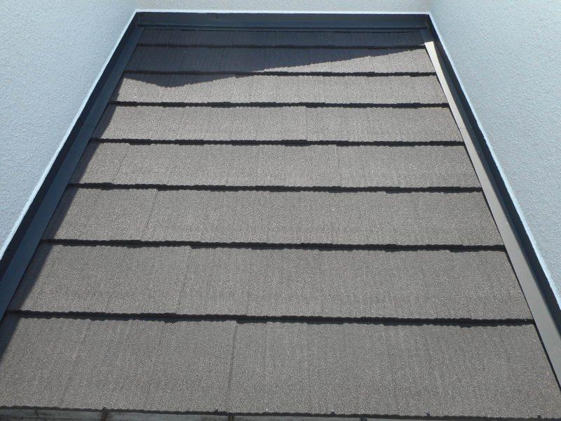 リフォーム施工中屋根重ね葺き工事【62】川崎市宮前区K様