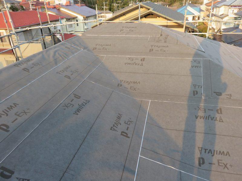 リフォーム施工中瓦屋根葺き替え工事【64】川崎市宮前区N様