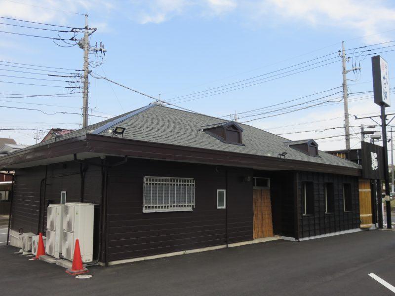 リフォーム施工中ラーメン屋 – 屋根重ね葺き工事【59】千葉県千葉市S様