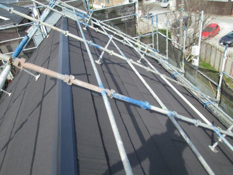施工後屋根重ね葺き工事・外壁塗装工事【63】横浜市泉区K様