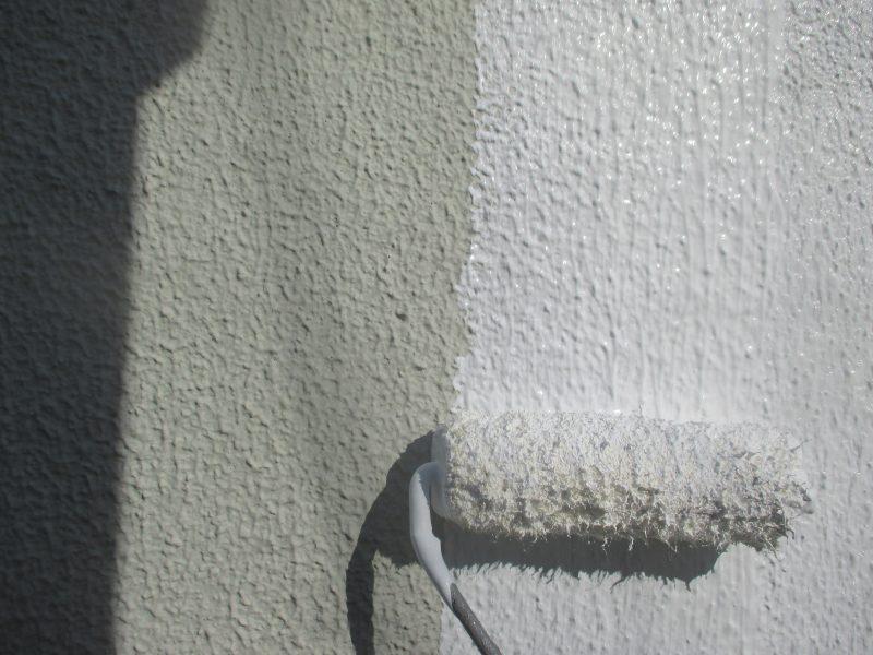 リフォーム施工中屋根防水工事・外壁塗装工事【60】横浜市都筑区I様