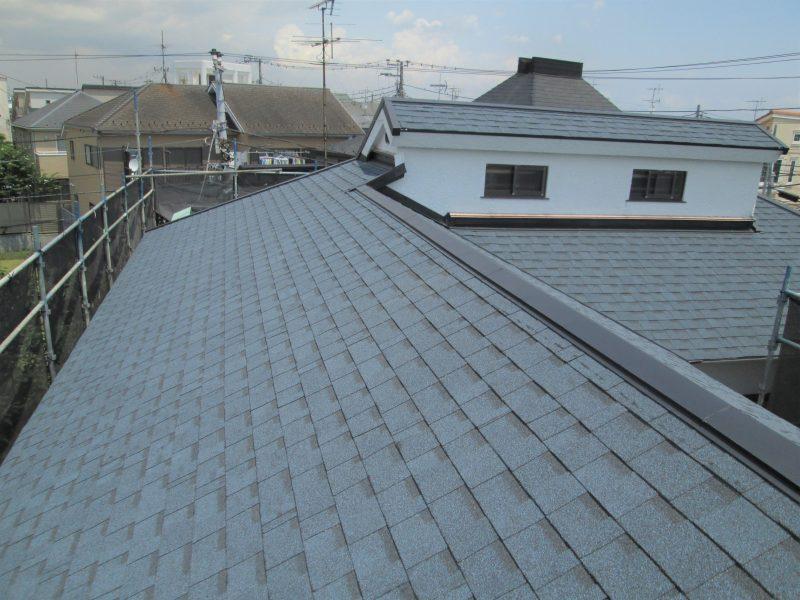 リフォーム施工中瓦屋根葺き替え工事【68】横浜市中区R様