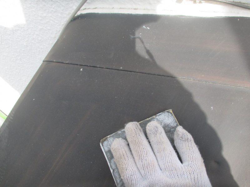 リフォーム施工中外壁塗装工事・防水工事【125】東京都練馬区D様
