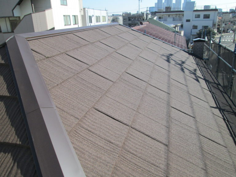 施工後屋根重ね葺き工事・外壁塗装工事【113】川崎市中原区M様