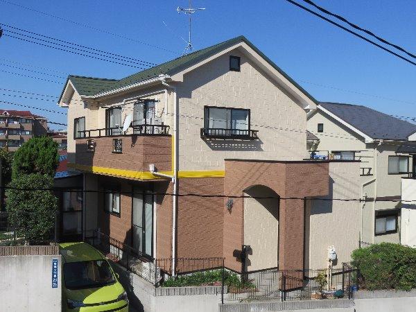 施工後屋根重ね葺き工事・外壁塗装工事【131】川崎市M様