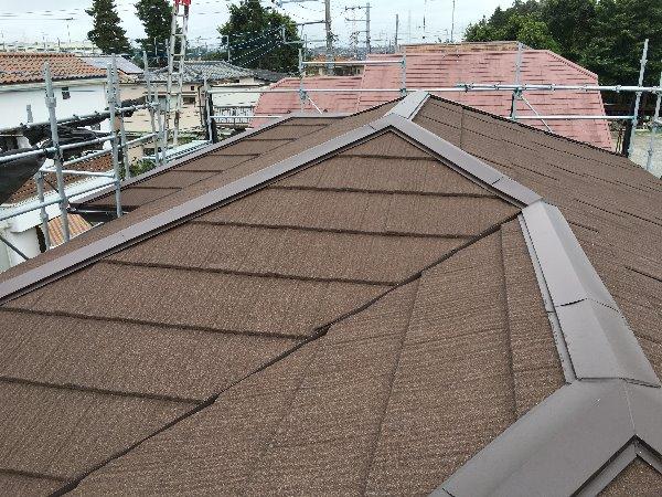 施工後屋根葺き替え工事【79】横浜市瀬谷区K様