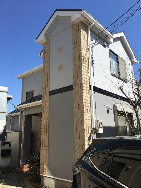 施工後屋根塗装工事・外装塗装工事【78】川崎市S様