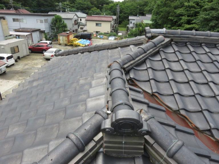 施工前屋根葺き替え工事【79】横浜市瀬谷区K様