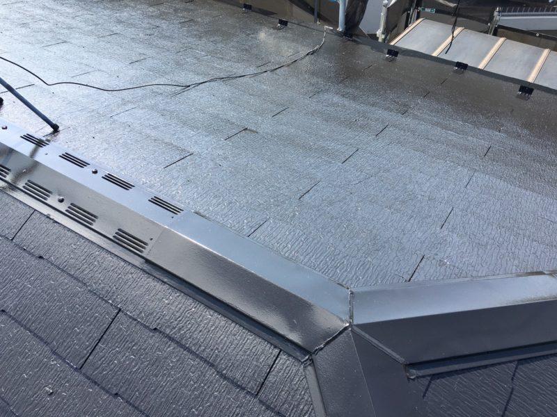 リフォーム施工中屋根塗装工事【76】横浜市緑区Y様