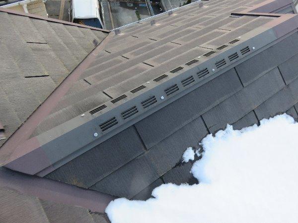 リフォーム施工中屋根塗装工事・外装塗装工事【78】川崎市S様
