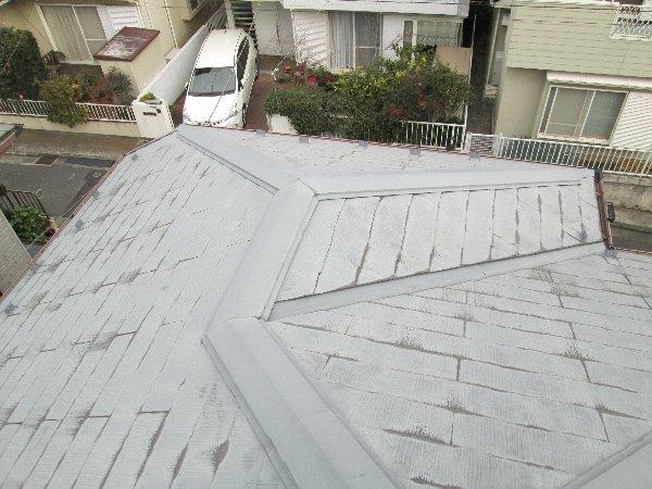 施工前屋根重ね葺き工事【86】横浜市泉区F様