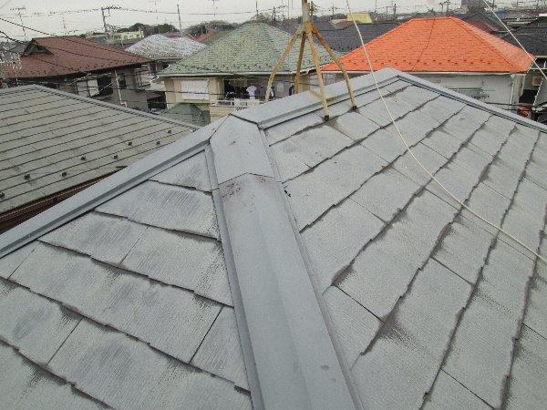 リフォーム施工中屋根重ね葺き工事【86】横浜市泉区F様