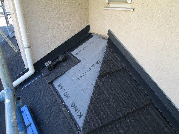 リフォーム施工中屋根葺き替え工事【80】青葉区S様