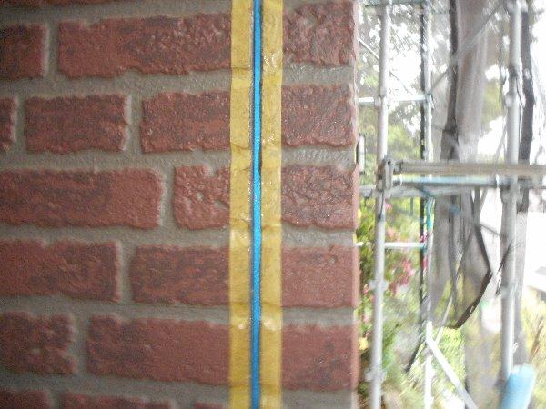 リフォーム施工中屋根塗装・外壁塗装【83】横浜市青葉区I様
