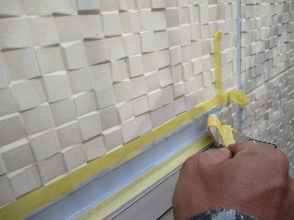 リフォーム施工中屋根重ね葺き、太陽光パネル脱着、外壁塗装、雨樋塗装、シーリング工事【139】横浜市港南区S様